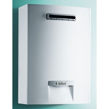 Scaldabagno Vaillant Outsidemag 158/1-5 camera stagna 15 LT Low Nox Metano A