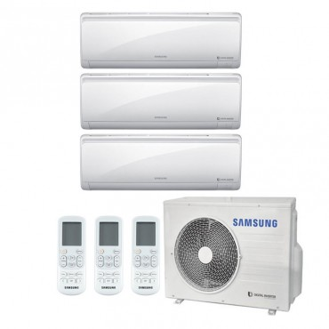 Condizionatore Samsung Maldives Trial Split 7000+7000+7000 btu inverter R32 AJ052 A++/A+